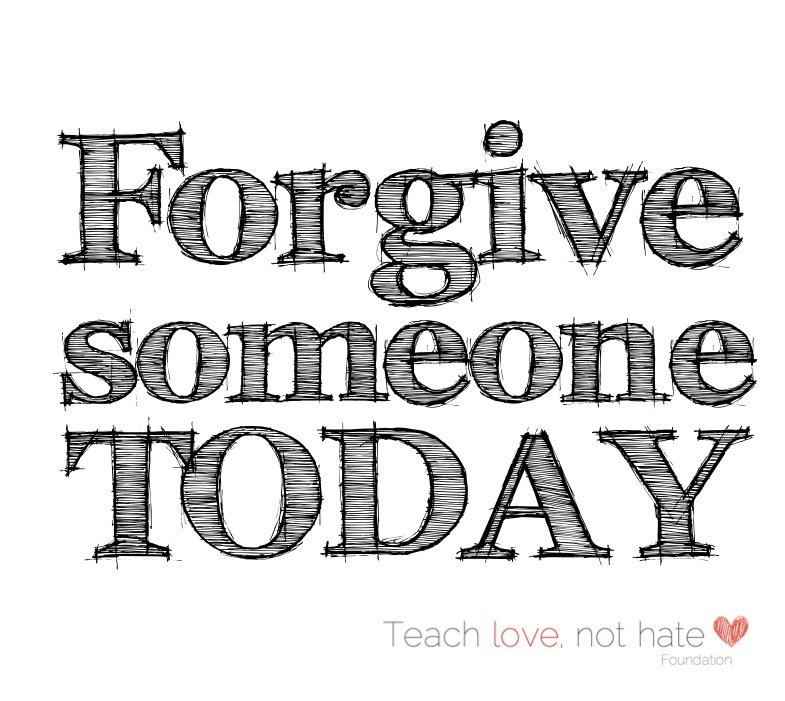 Forgive and you will be forgiven